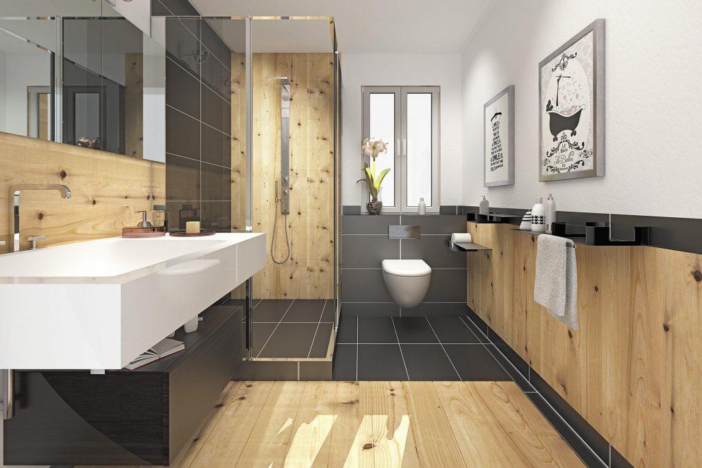 Projekt Badezimmer - Tischlerei Krug