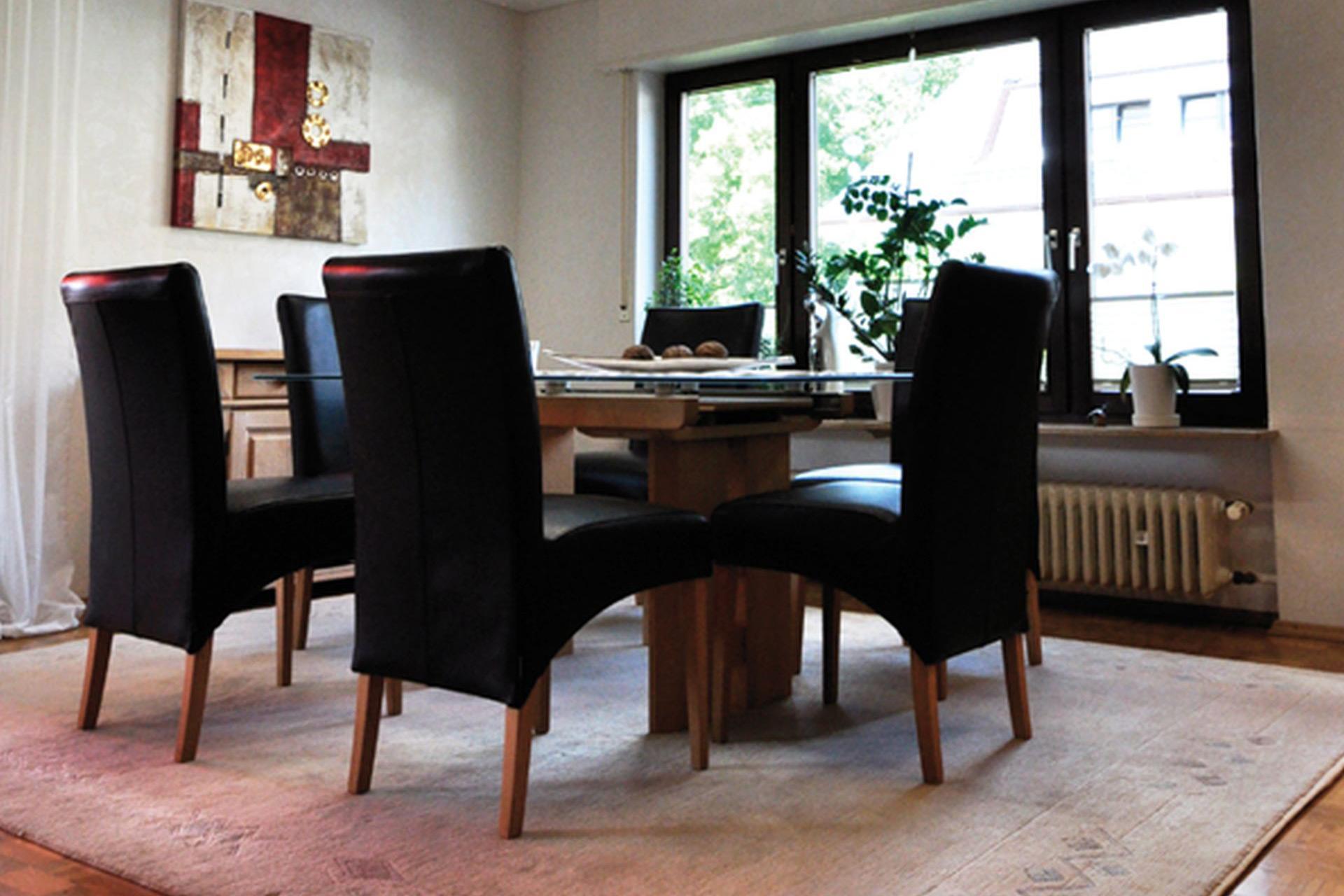projekt esszimmer tischlerei krug. Black Bedroom Furniture Sets. Home Design Ideas